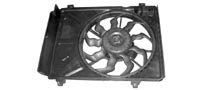 hyundia car blower assembly radiator supplier from india