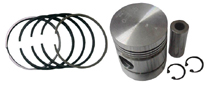 mf tractor piston with pin flat top manufacturer from india
