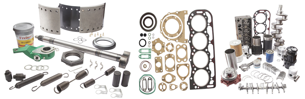truck spare parts, trailer spare parts from india