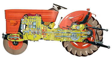 mtz tractor spare parts supplier from india