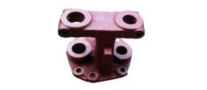 leyland trailer rear spring front bracket tauras double pin exporter from india