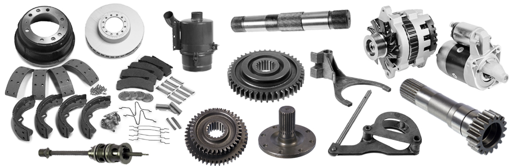 truck spare parts, replacement parts manufacturer, supplier and exporter